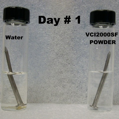 VCI Corrosion test