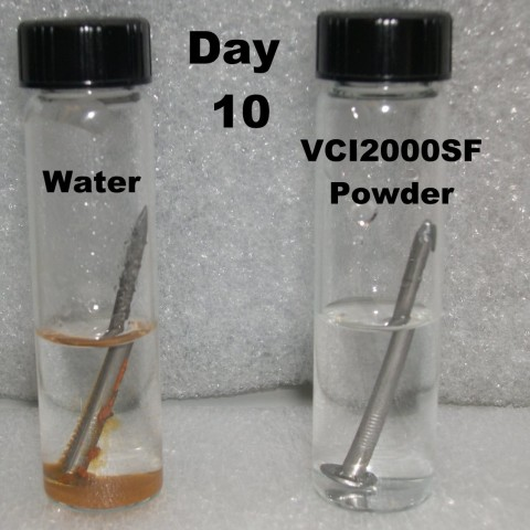 VCI2000 Corrosion test